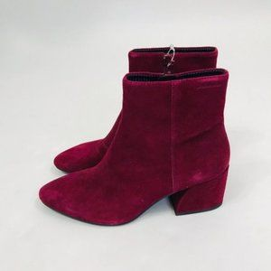 Vagabond Women Red Olivia Ankle Boot Size